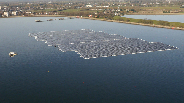 Europe's Largest Floating Solar Farm - Solar Wholesale