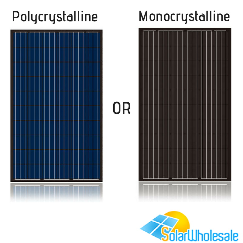 Types of Solar Panels Monocrystalline or Polycrystalline