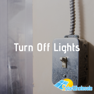 10 Ways to Save Electricity | Turn Off Lights
