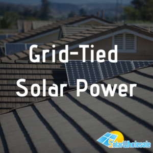 Grid-Tied Solar Power
