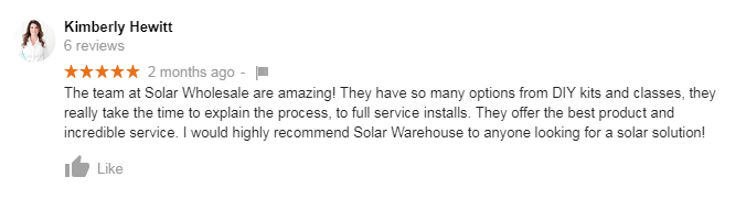 solar wholesale review kimberly hewitt