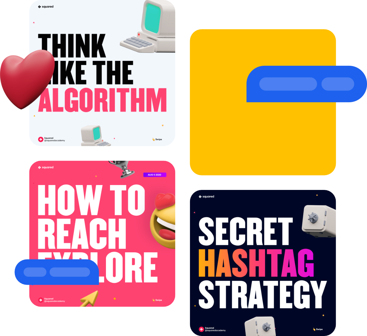 Instagram masterclass is a growth course for content creators.
