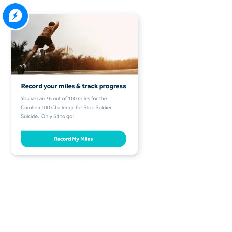 Peer To Peer Fundraising Example