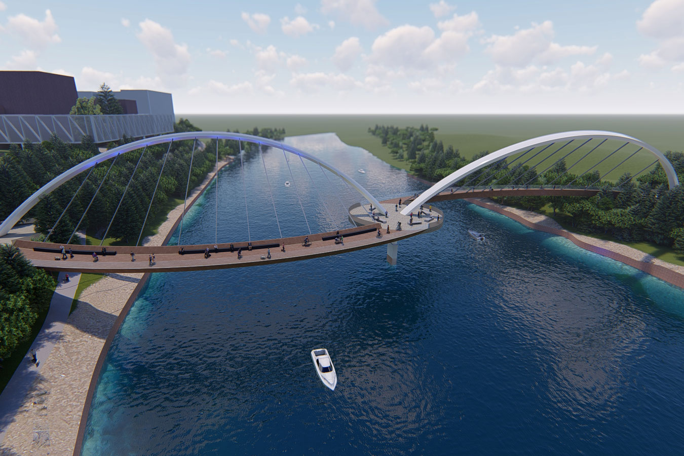 Kotahitanga Bridge Design to Create Unity