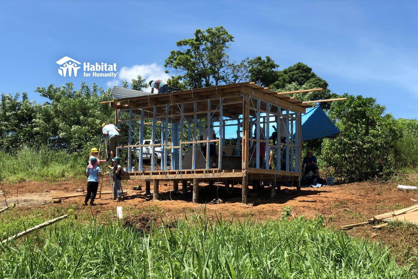 Fiji Build Project with Habitat for Humanity