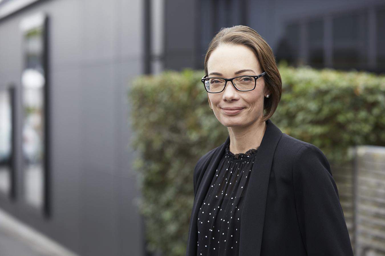 Chow:Hill Director, Jane Hill, Women in Property Award Winner
