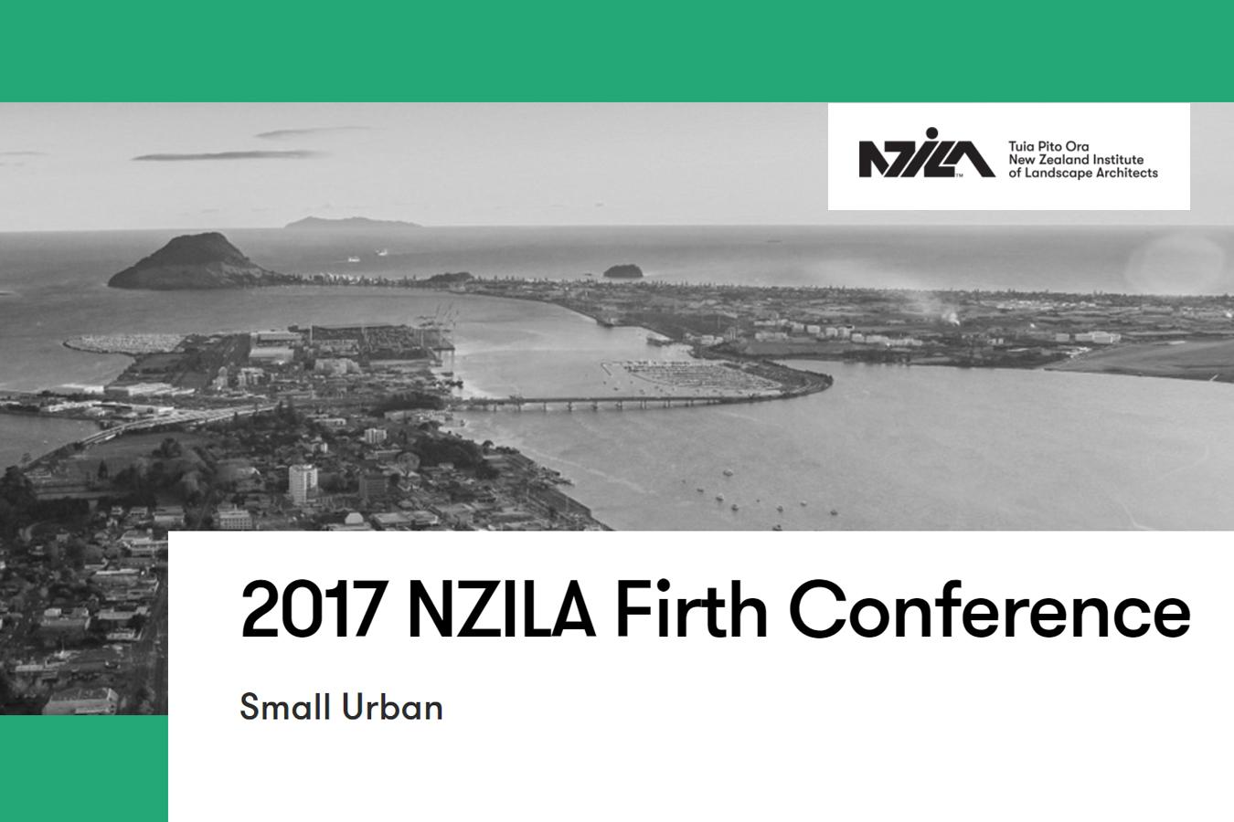 NZILA Small Urban Conference