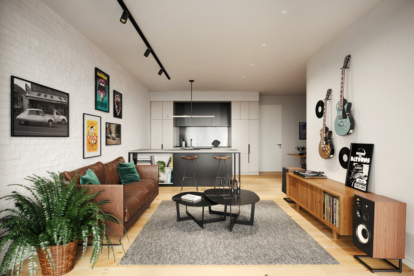 The Electric, Kingsland Apartments