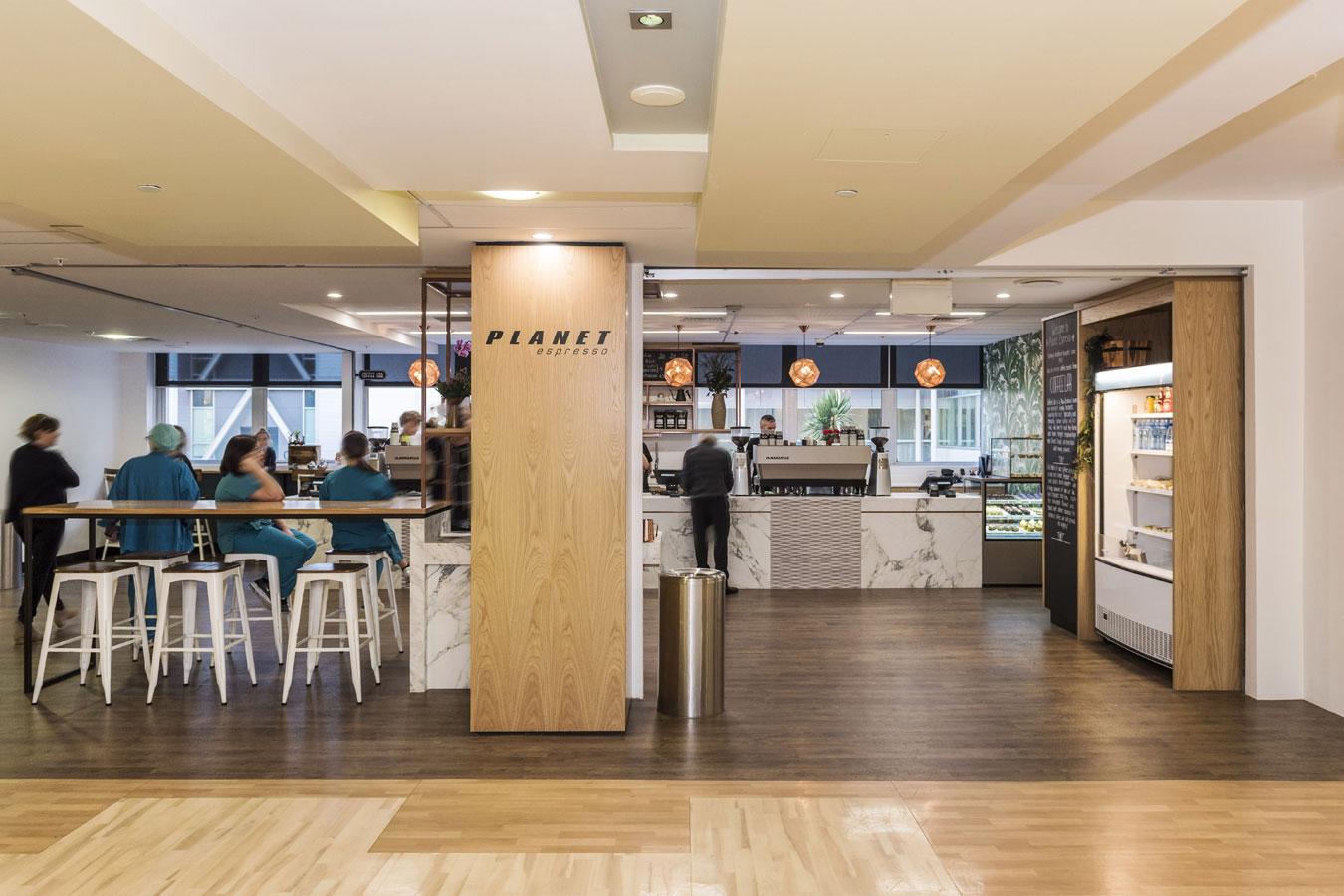 New Boutique Planet Espresso Café opens at Auckland City Hospital