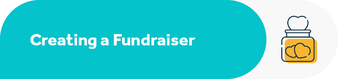 This section breaks down the steps to creating a Facebook fundraiser.