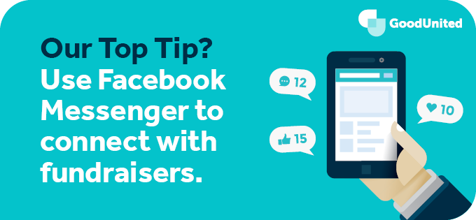 To make the most of Network for Good and Facebook fundraising, use Messenger.