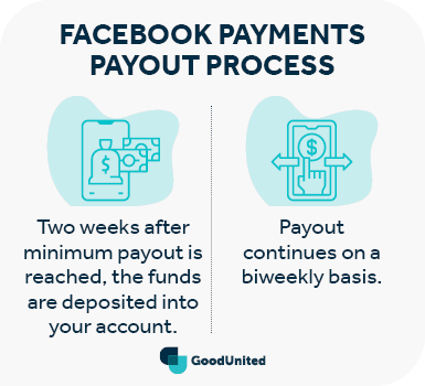 In comparison to Network for Good, this graphic shows how Facebook Payments handles payout.