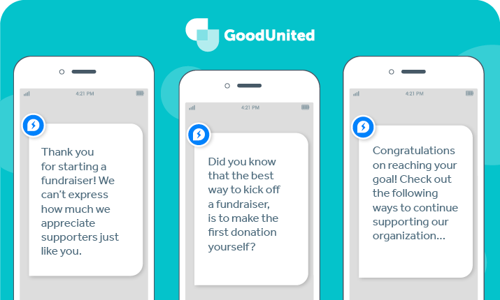 By messaging donors and sending tips and encouragement, you can appeal to their interests beyond Facebook tax deductions.