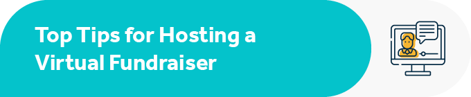 What are the top tips to make sure your virtual fundraising idea is a success?