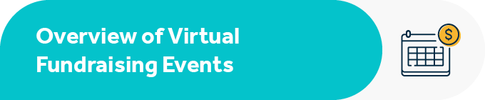 This section contains an overview of virtual fundraising events.