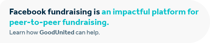 Contact GoodUnited to discover how we can supercharge your peer-to-peer fundraising strategy.