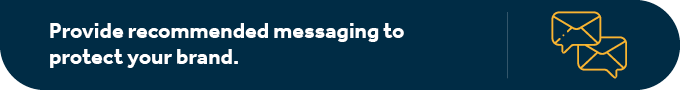 Provide peer-to-peer fundraisers with recommended messaging.