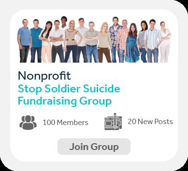 Use Facebook groups to create communities when peer-to-peer fundraising.