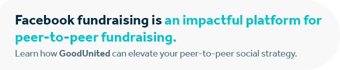 Contact GoodUnited to optimize your peer-to-peer fundraising idea.