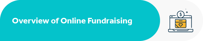 This section covers an overview of Facebook fundraising.