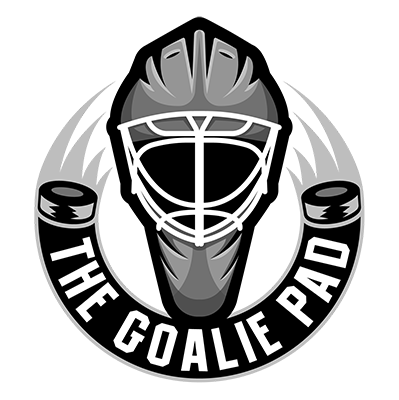 the goalie pad logo