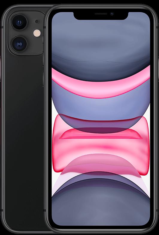 Apple iPhone 11 (MM) - Schwarz