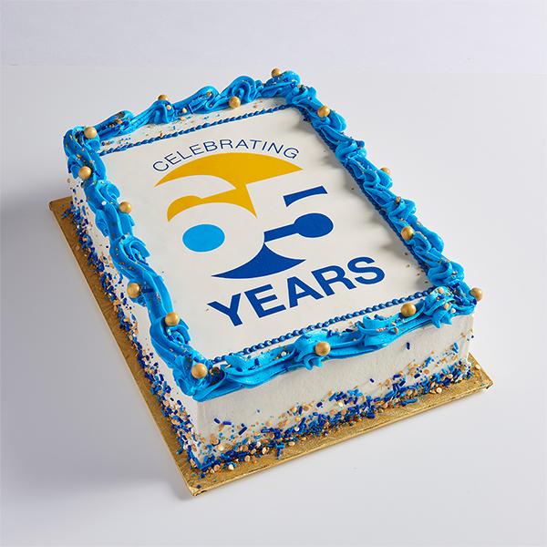 Corporate Sheet Cake