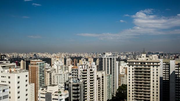 imagem dos apartamentos da cidade de São Paulo