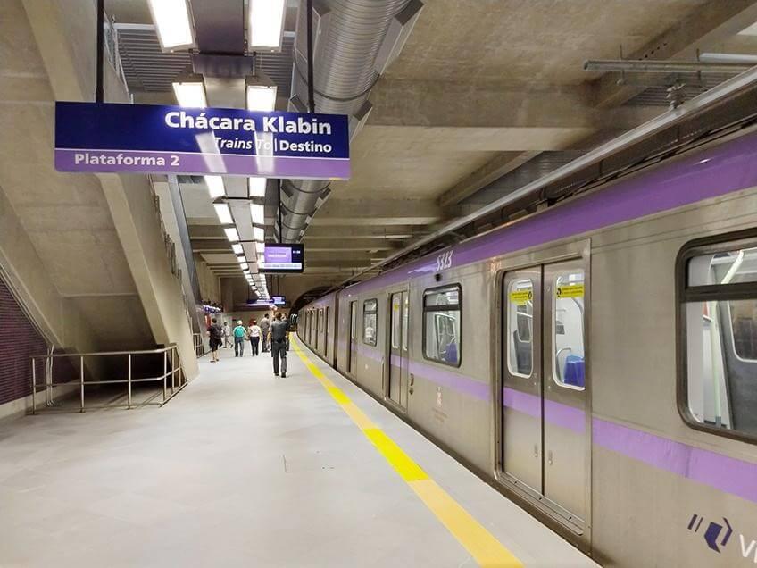 Com o metrô Chácara Klabin, o bairro possui uma infraestrutura de alta qualidade aos seus moradores