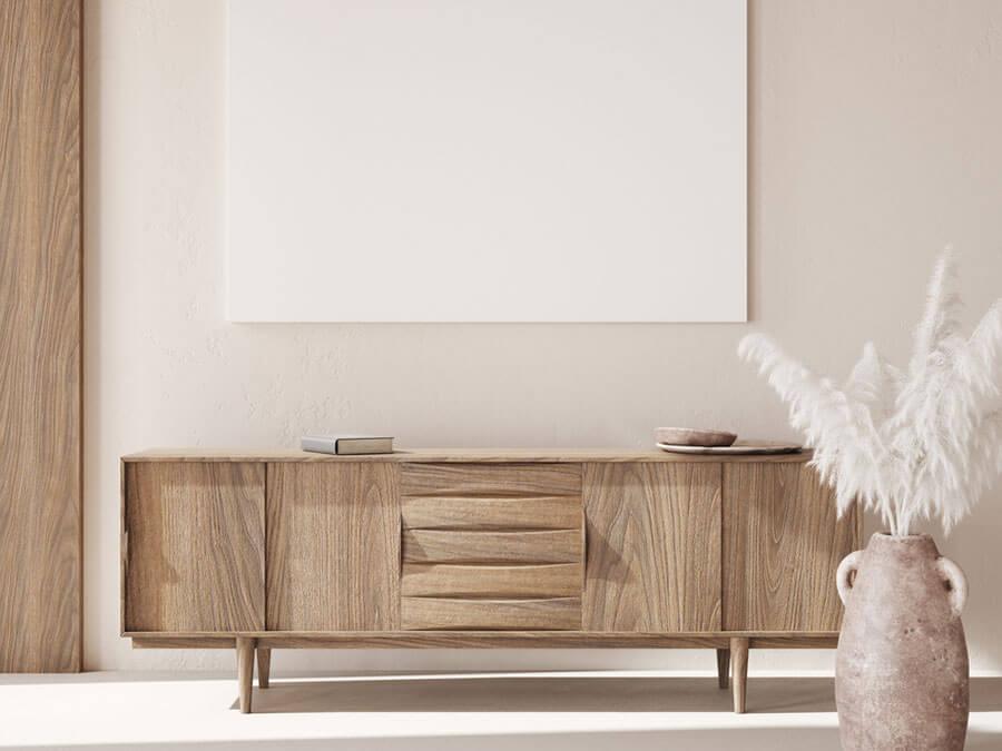 As cores neutras também são boas ideias para decorar espaços compactos, trazendo sensação de amplitude.
