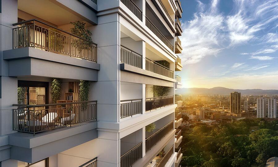 Uma das melhores opções de apartamento da Lavvi Incorporadora, o One Park Perdizes está localizado em uma das melhores regiões da cidade.
