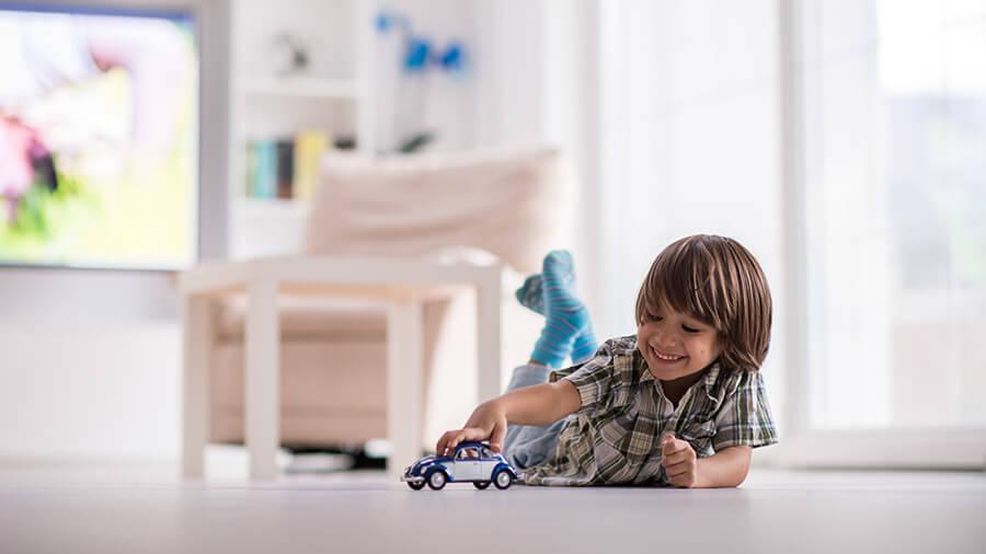 Crianças passam muito tempo dentro de casa, por isso todo cômodo deve ser seguro.