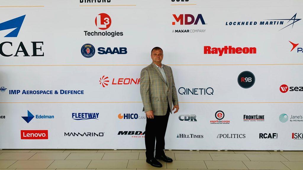 Kavin Group Vice President Steve Vincic at CANSEC 2019