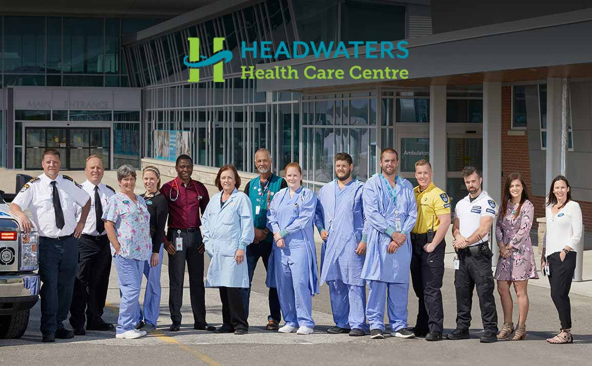 The Team at Headwater Health Care Centre in Orangeville, Ontario