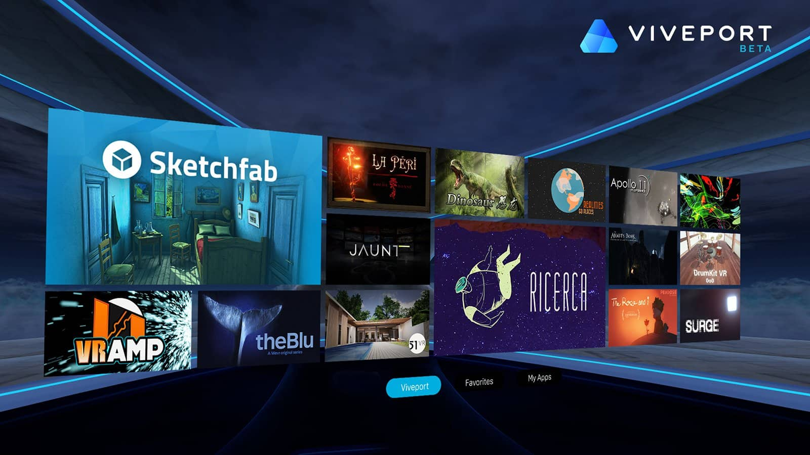 Viveport the New VR Content Store for HTC Vive