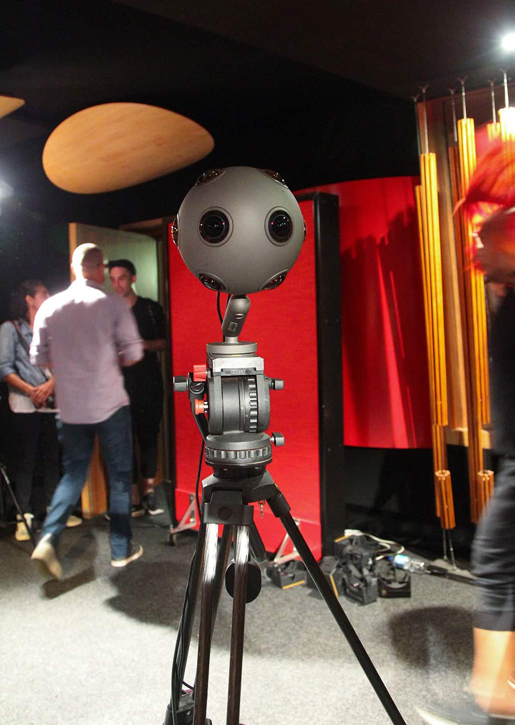 NITV Change the Date VR Project Behind the Scenes with the Nokia Ozo