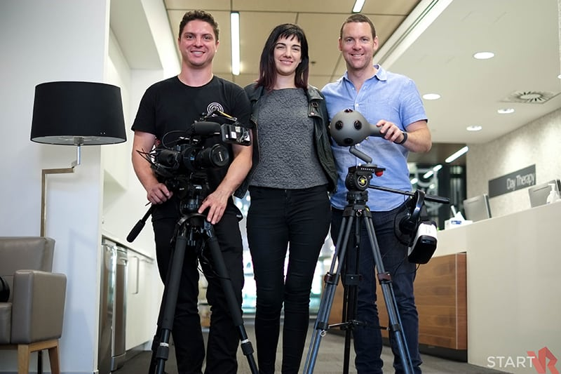 Chris O'Brien Lifehouse VR Therapy Trial Behind the Scenes 01
