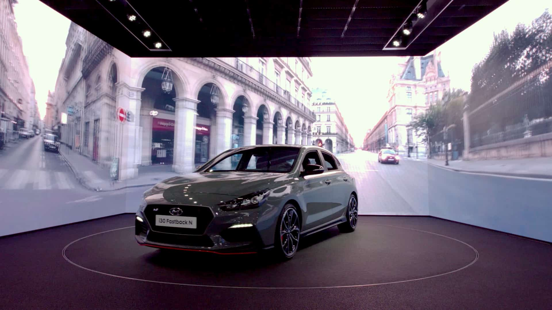 Hyundai Paris Motor Show 2018 Event Activation