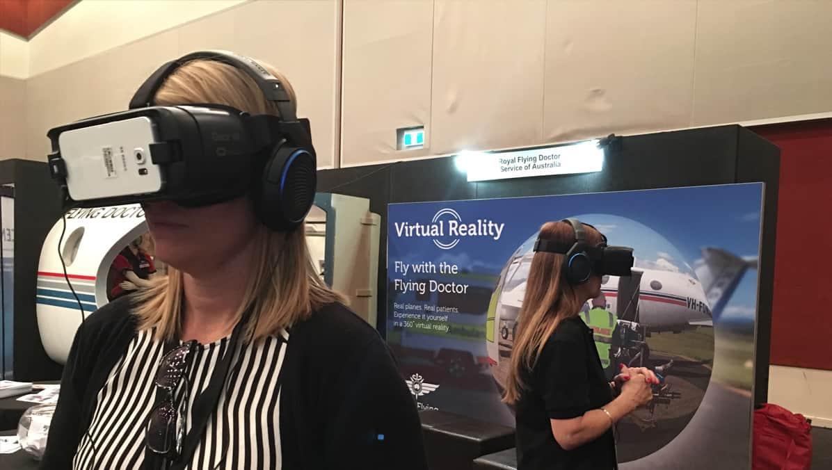 Royal Flying Doctors Service VR Event Activation