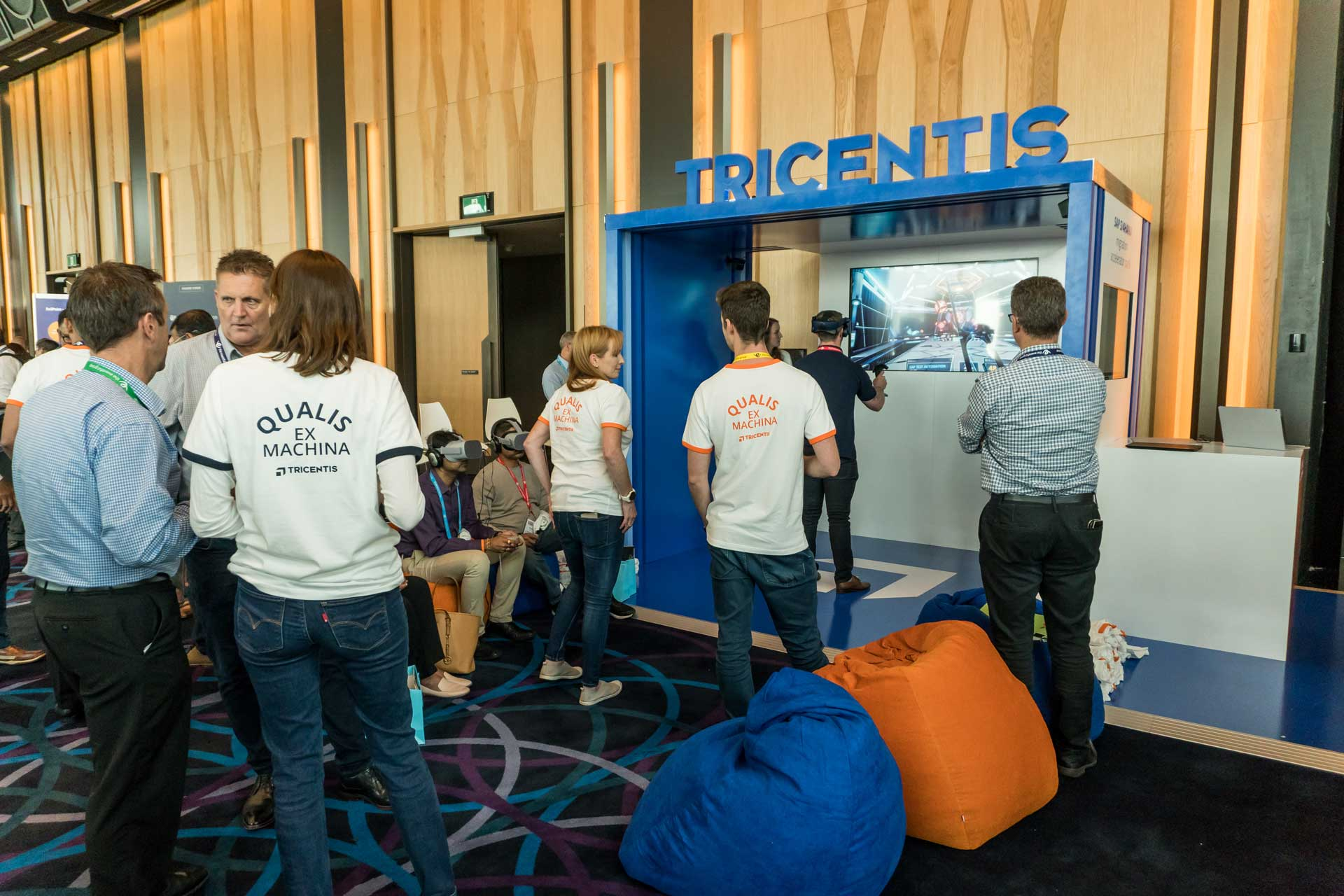 Tricentis VR and AR Project Event Activation Photo 02