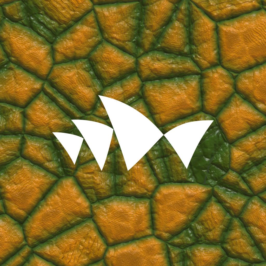 Digital Dinos app logo by Sydney Opera House and Erth