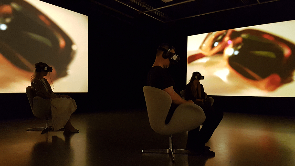 VR Noir demonstration by Start Beyond and AFTRS