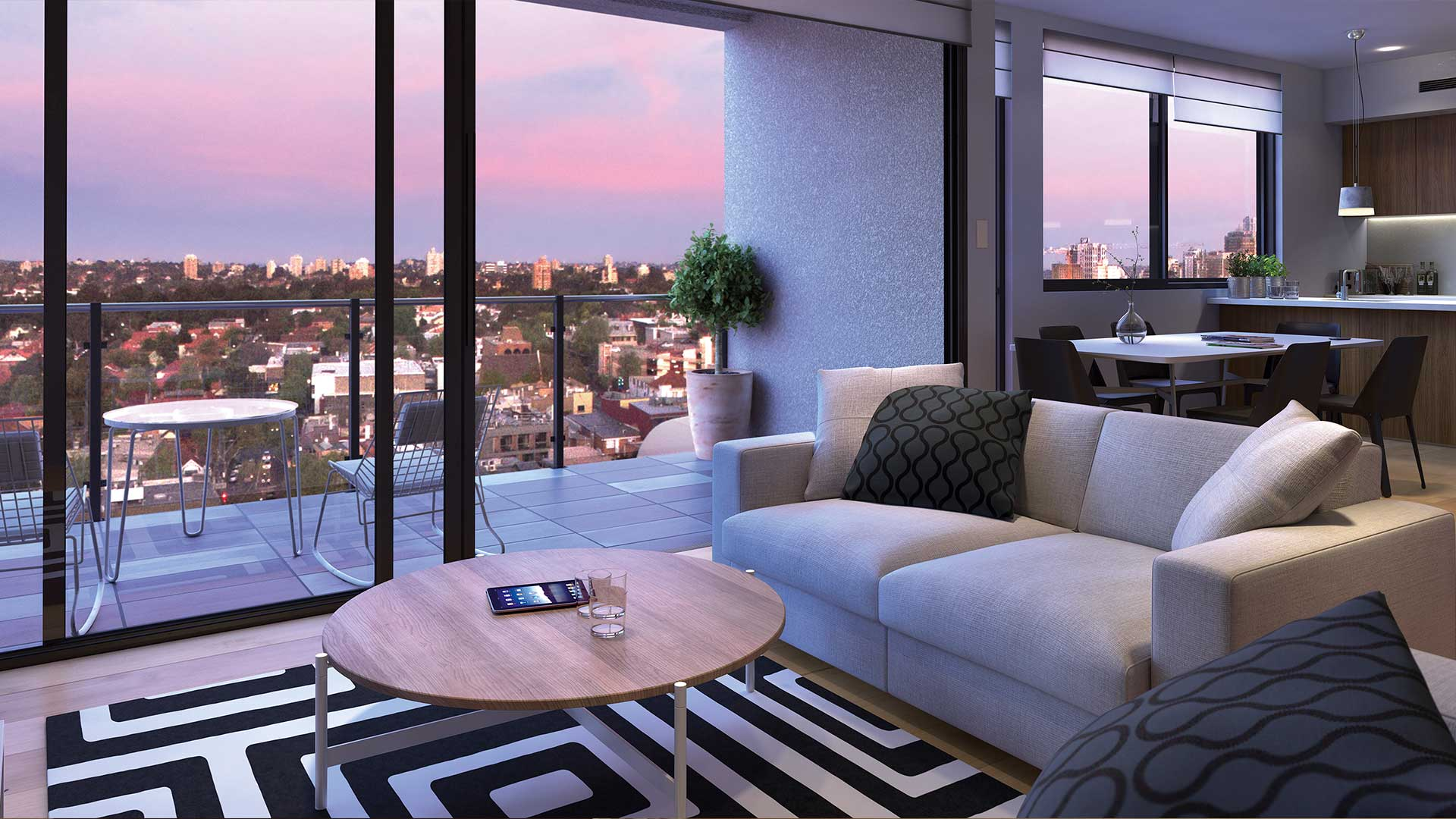 Real Estate VR Edge 28 Lounge View