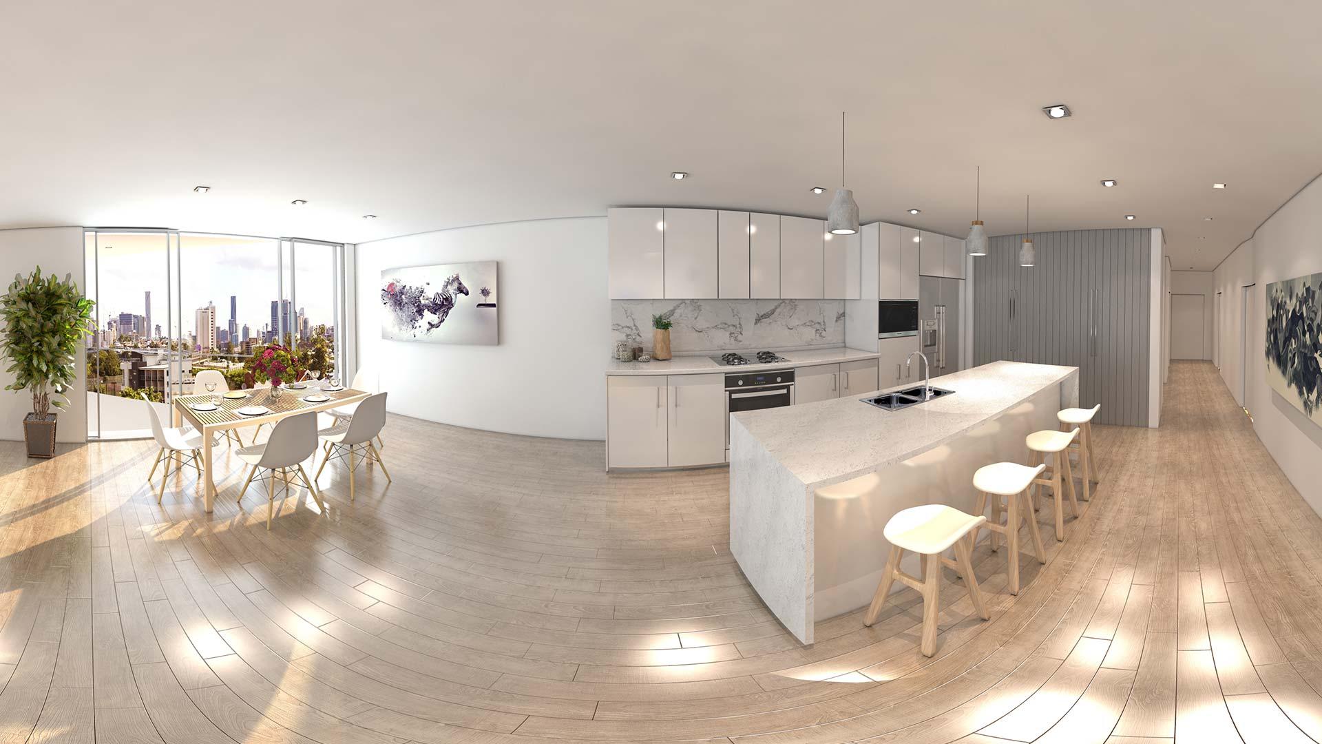 Real Estate VR Kitchen Sales