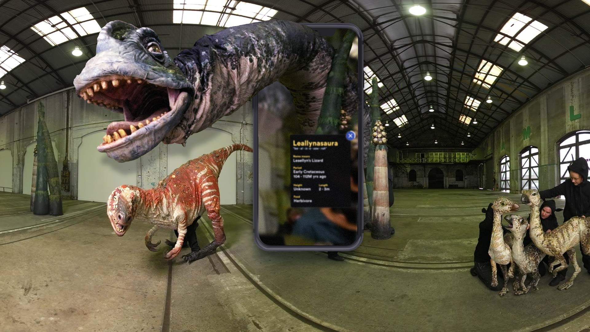 Digital Dinos by Sydney Opera House and Erth