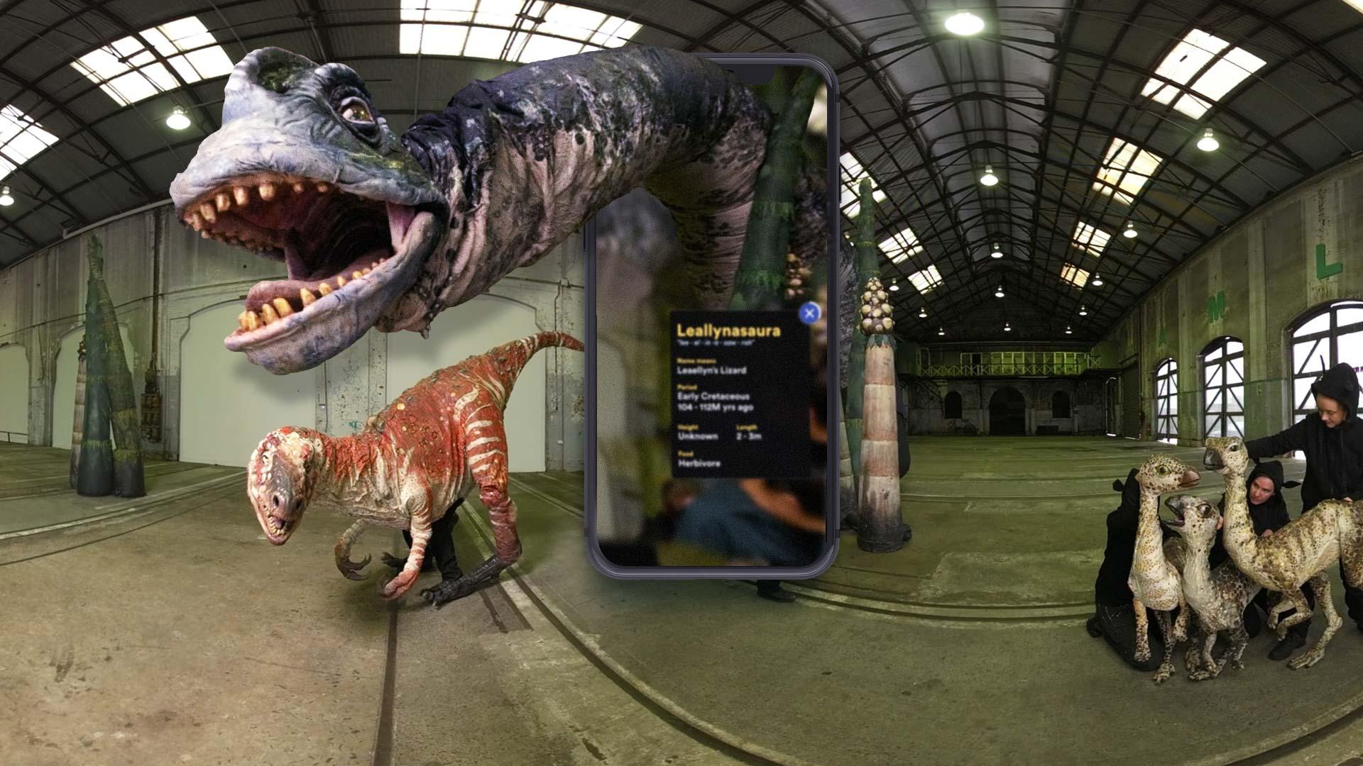 Digital Dinos by Sydney Opera House and Erth