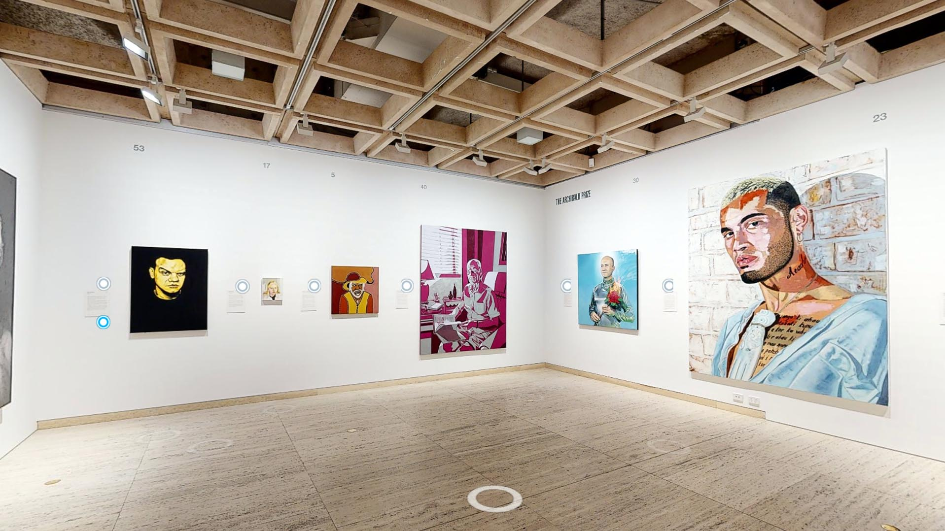 Archibald Prize Virtual Tour POV