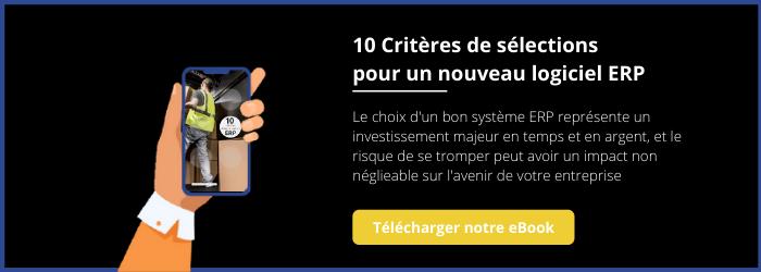 10 Critères Choix ERP