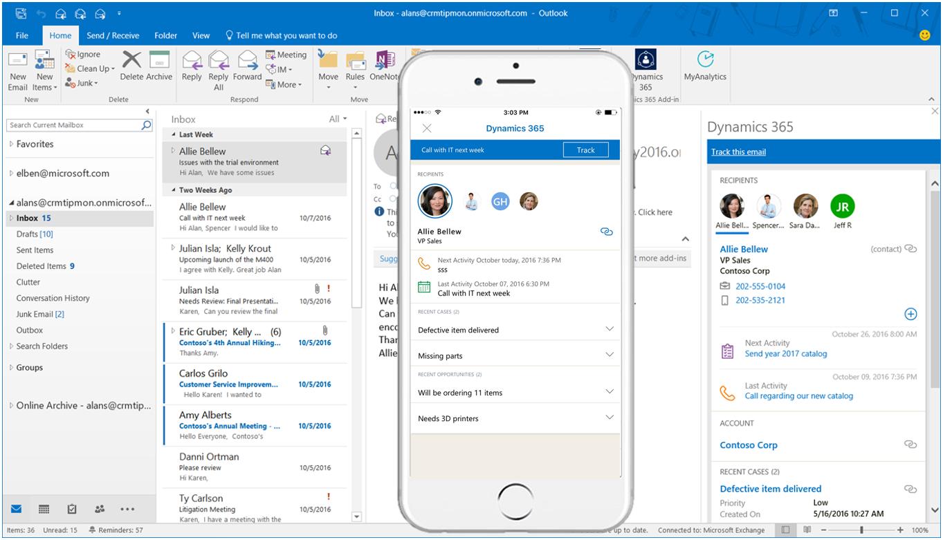Microsoft Dynamics NAV + Office 365