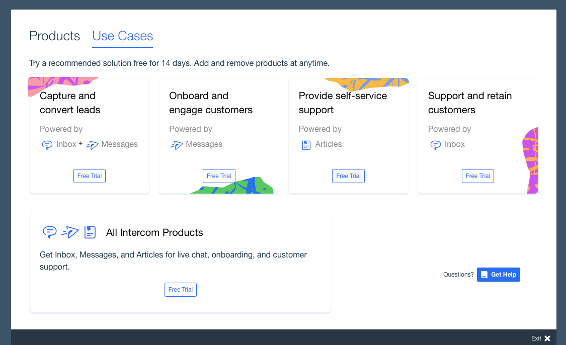 intercom customer onboarding | #1: Set up expectations for feature-driven success